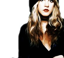 Stevie Nicks - Rhiannon - Pop Art by wcsmack