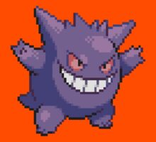 Pixel Gengar Kids Clothes