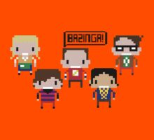 The Big Bang Theory - Sheldon BAZINGA!! by innercoma