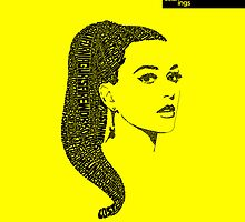 Katy Perry Yellow by seanings