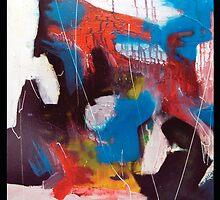 Blue and Orange Intrusion by Joeldelphinart