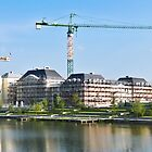 Panoramic view of a building construction by Mathieu Longvert