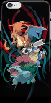 Mega Kanto Stater Evolutions by Jrwalker55