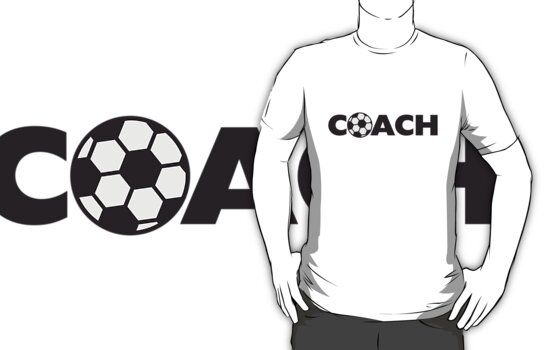 Soccer Ball Coach Logo Design by Style-O-Mat
