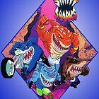 Street Sharks by heyitsjro