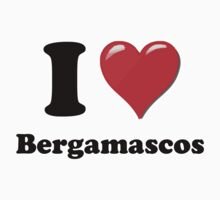I Heart Bergamasco by HighDesign
