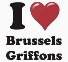 I Heart Brussels Griffons by HighDesign