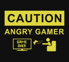 Angry Gamer by chester92