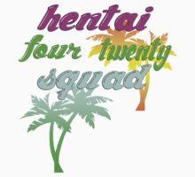 Hentai Squad 420 80's by Joseph Michael