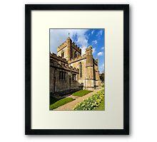 Edington Priory Church, Wiltshire, UK Framed Print