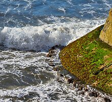 BURGHEAD - THE END OF THE PIER by JASPERIMAGE
