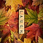 LAUGH-Autumn InspireMe iPhone by onyonet photo studios