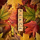 PEACE-Autumn InspireMe iPhone by onyonet photo studios