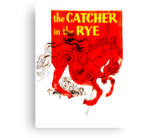 For the Holden Caulfield in all of us Canvas Print