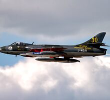 Hawker Hunter F.58  J-4021 by Andrew Harker