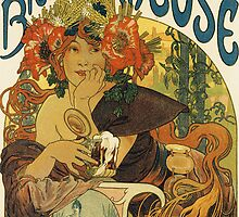 Mucha - Bieres de la Meuse by William Martin