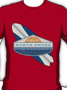 Surfing the North Shore T-Shirt