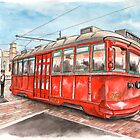 Red Car Trolley by athertoncustoms