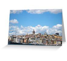 Istanbul 3 Greeting Card