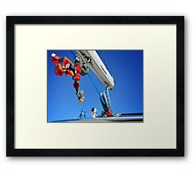 Luggage? Must be some summer cleaning... Framed Print