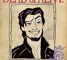 Flynn Rider: Wanted Poster by GiraffesAreCool