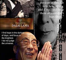 dalai lama by arteology