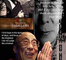 dalai lama by arteology