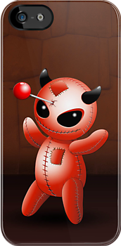 Voodoo Doll Evil Devil Cartoon by BluedarkArt