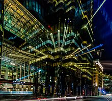 Boston city lights  by LudaNayvelt