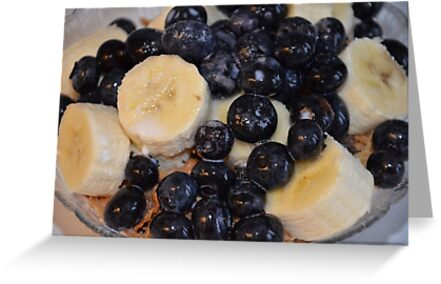 Blueberry Banana Breakfast! by Carol Clifford