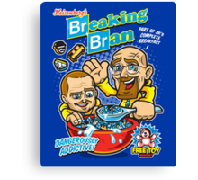 Breaking Bran Canvas Print