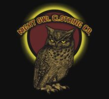 night owl tee by Look4TheOwl