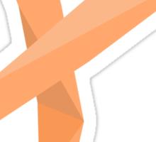Geometric Ribbon Sticker