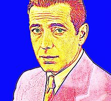 Humphrey Bogart by Art Cinema Gallery