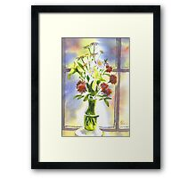 Daisies Supreme Framed Print