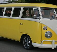 The Primrose Yellow Camper by RedHillDigital