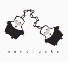 nunchucks by Matt Mawson