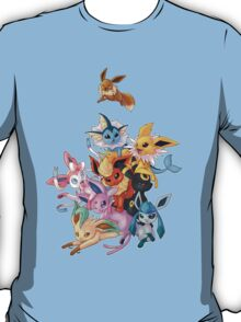 Eeveelution Pileup T-Shirt