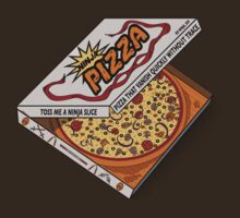 Ninja Pizza - Red by BanzaiDesigns