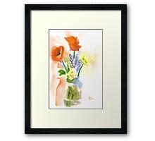 Spring Bouquet II Framed Print