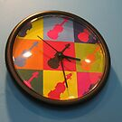 Funky Guitar Clock by BlueMoonRose