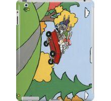 Awesome Bunny Wagon Ride iPad Case/Skin