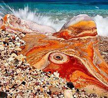 Psychedelic rock splash by Hercules Milas