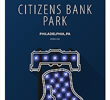 Minimalist Citizens Bank Park - Philadelphia by pootpoot