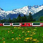 Glacier Express Switzerland to France by BrianJoseph