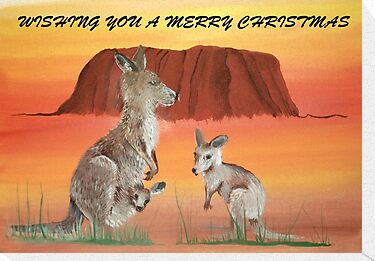 ULURU CHRISTMAS by jansimpressions