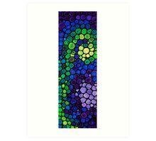 Healing Light - Mosaic Art By Sharon Cummings Art Print