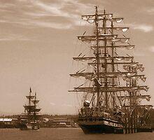 Tall Ships by Dave Davis