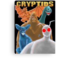 Cryptids Canvas Print