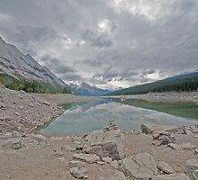 Maligne Lake  by Judy Grant